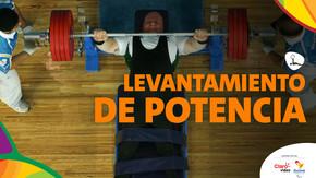 Paralímpicos Rio 2016: Levantamiento de potencia